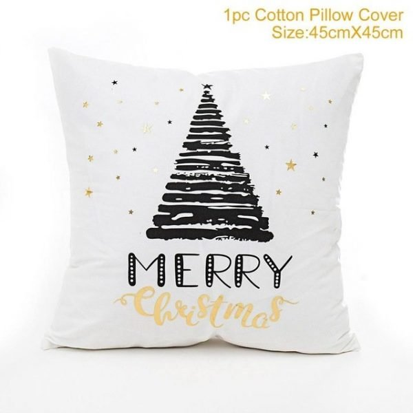 Holiday Pillow Cover Style 4