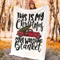Christmas Movie Watching Blanket