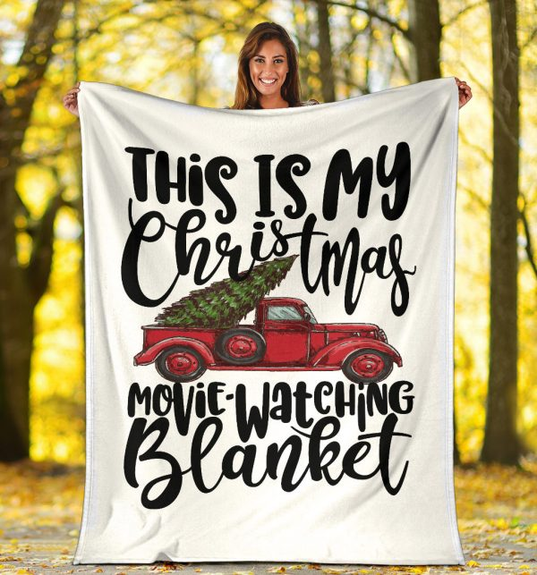 Christmas Movie Watching Blanket-3