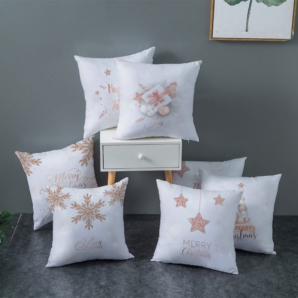 2020 Christmas Pillow Covers Collection #3