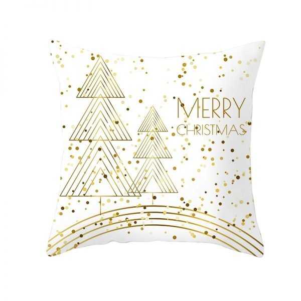 Trees Merry Christmas Pillow Cover