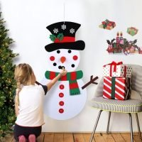 DIY Kids Snowman