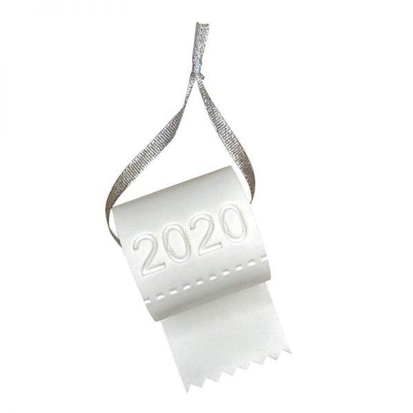 2020 Ornament - 2020 Toilet Paper Ornament