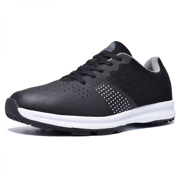 Thestron Black Golf Shoes