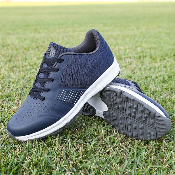 Thestron Blue Golf Shoes
