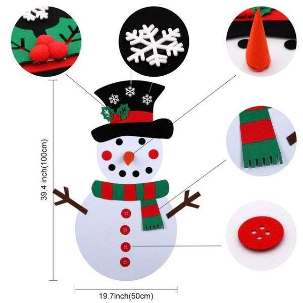 DIY Kids Snowman Sizing