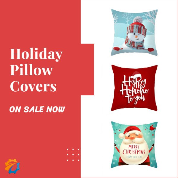 Save an Extra 10% on Holiday Pillow Covers Today