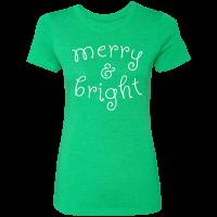 Merry & Bright T-Shirt - Green